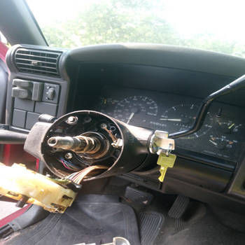 Ignition Switch Replacement 1989 Chevrolet Jimmy After